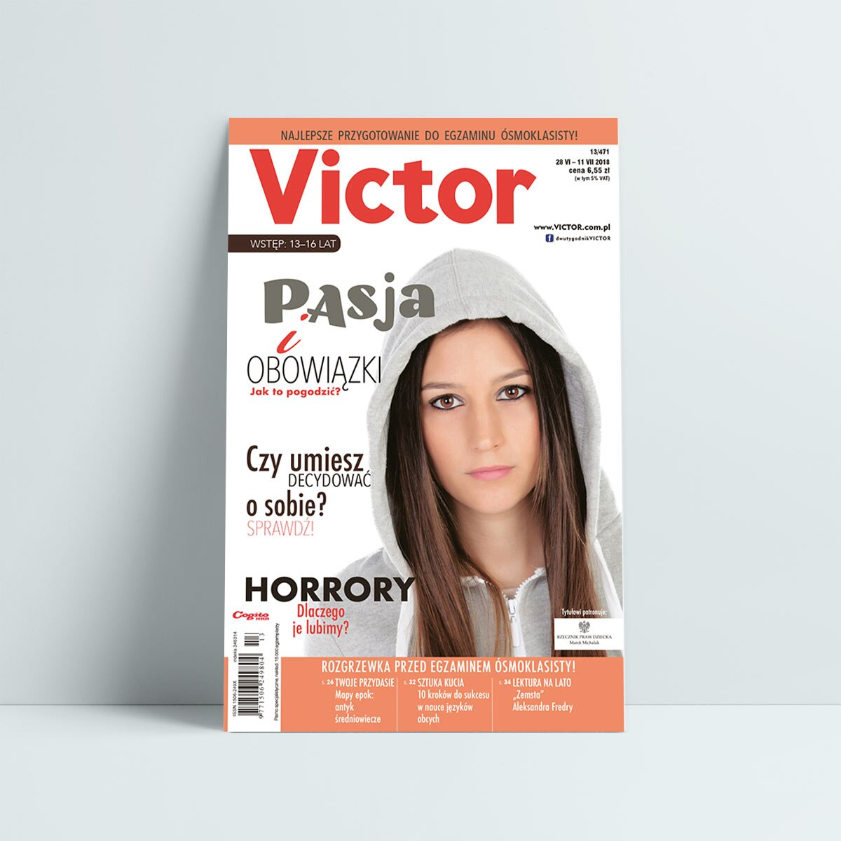 victor 13 2018 czerwiec pasja i obowiązki horrory decydować o sobie