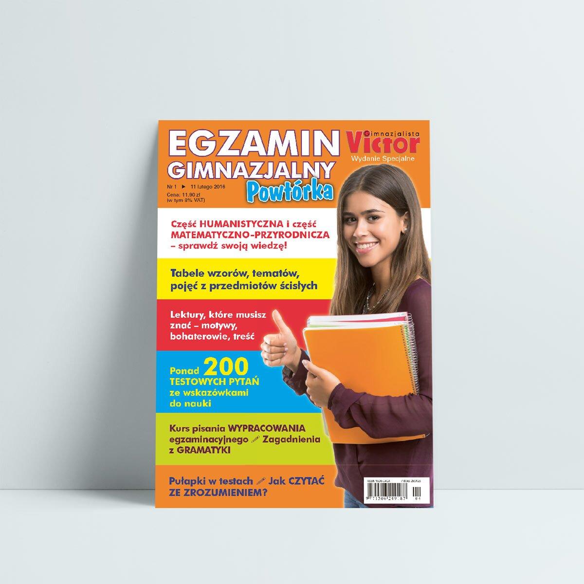 egzamin gimnazjalny 2016 cześć humanistyczna i matematyczno przyrodnicza