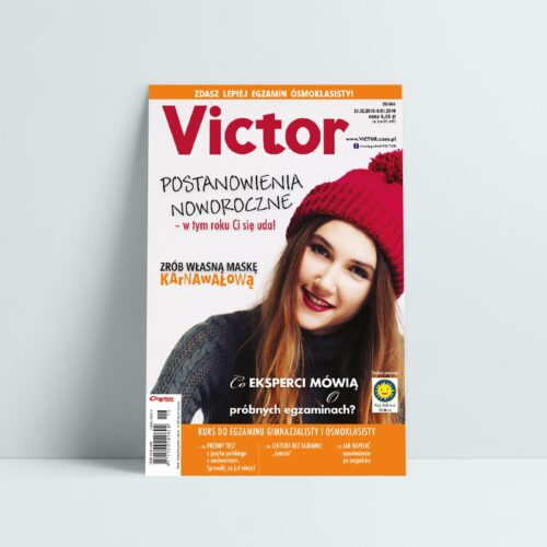 victor 26 2018 grudzień postanowienia noworoczne zrób maskę karnawałową próbne egzeminy gimnazjalisty i ósmoklasisty