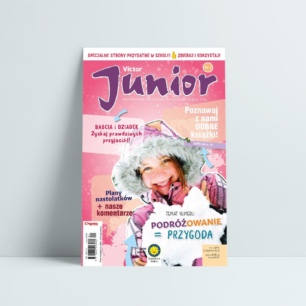 victor junior 1 2019 styczeń babcia i dziadek zyskaj prawdziwych przyjaciół