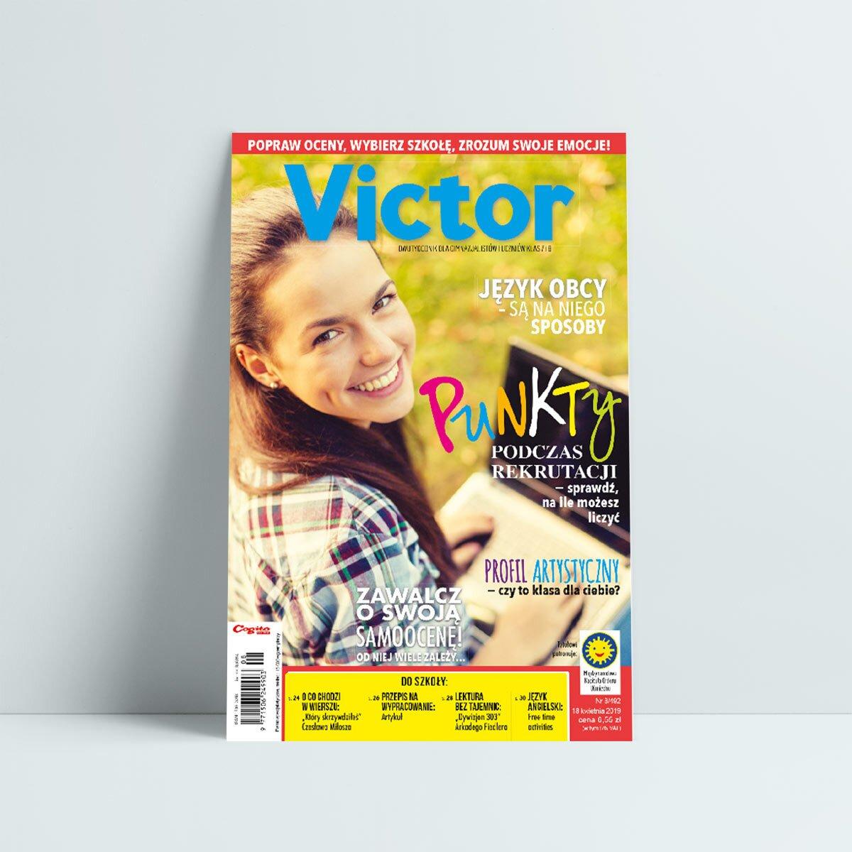 victor 8 2019 kwiecień zawalcz o swoją samoocenę
