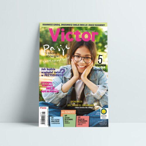 victor 18 2019 wrzesień Pasje i szkolne obowiązki